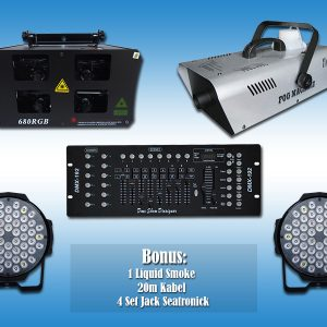 Paket Lighting LED Ekonomis 4 V3