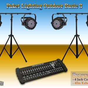 Paket Lighting Outdoor Basic 3