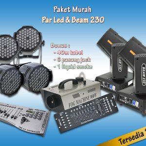 Paket Murah Par & Beam 230