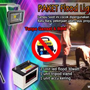 Paket flood lighting 1 - led