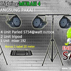 Paket lighting murah 4