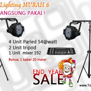 Paket lighting murah 6
